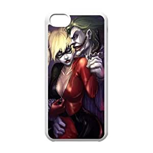Personalized Durable Case Cover for iPhone 5C with Brand New Design Harley Quinn