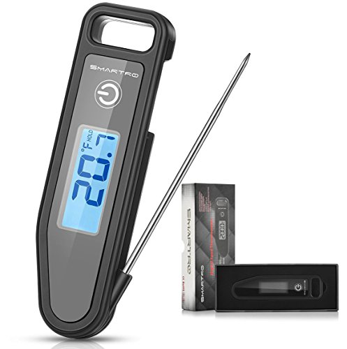 SMARTRO Instant Read Digital Meat Thermometer for Kitchen Cooking