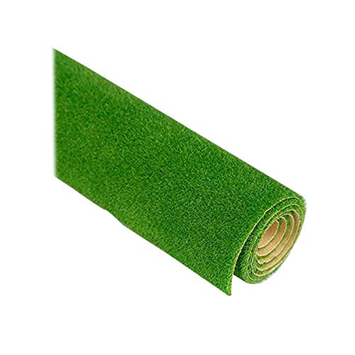 Construction Turf Sod Meadow Lawn Grass 20 Inch Model Trains Architectural for Miniature Scenes New by LLAMEVOL