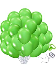 108pcs Kosea Green Balloons For Parties 12inch Latex Ballons For Balloon Arch Garland Kit Globos De Cumpleaños Baby Shower Birthday Baloons For Fiesta Party Decorations Valentine Bride Ballon