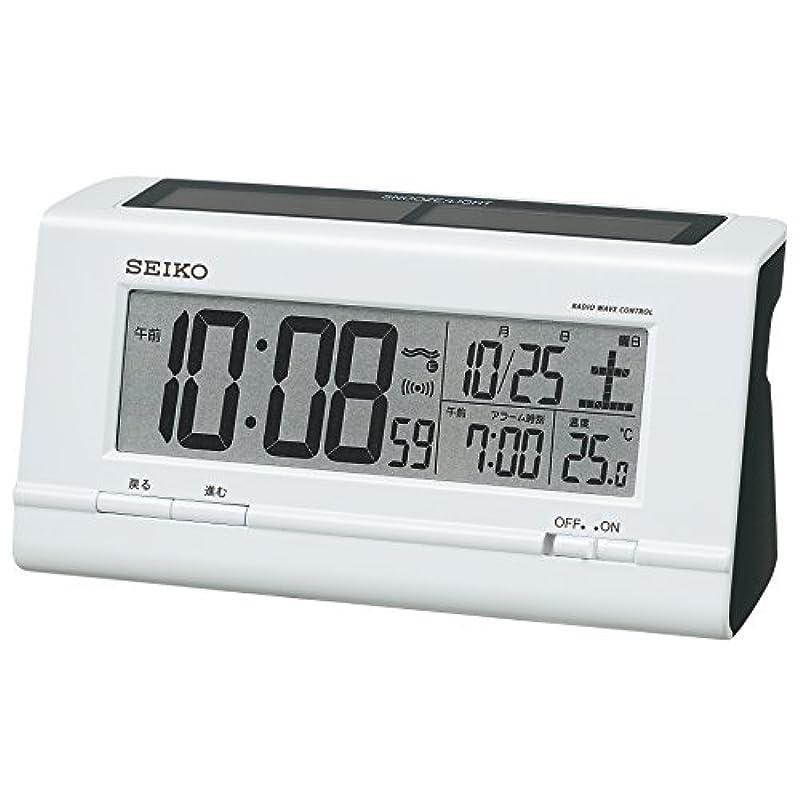세이코 디지털 알람 시계 하이브리드 SQ766W