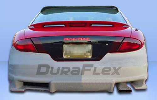 Duraflex Replacement for 1995-2002 Pontiac Sunfire 2DR Bomber Rear Bumper Cover - 1 Piece