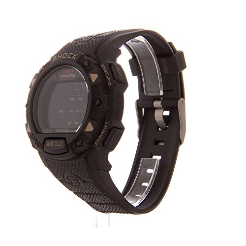 Timex Men s Expedition Digital Shock CAT Resin Strap Watch
