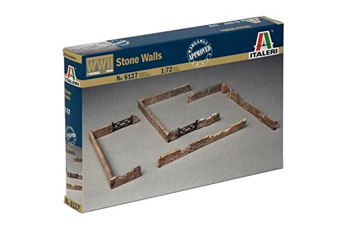 Italeri Models Stone Walls in 1/72 Scale Kit