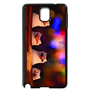penguins of madagascar movie 2 Samsung Galaxy Note 3 Cell Phone Case Black xlb2-314727