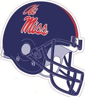 Amazon Com 4 Inch Football Helmet University Of Mississippi Ole