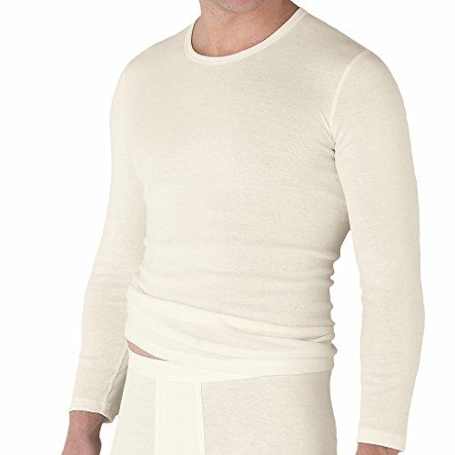 con-ta- Conta - Baumwolle mit Angora Unterhemd Langarm 801-6970 (8, Wollweiß)