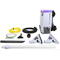 Pro Team Super CoachVac Pro 6 QT Backpack Vacuum Cleaner