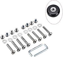L-A OD 15//64 6mm Shaft Hex Socket Screw Inline Skate Wheel Roller Blades Replacement Skate Wheel Axles Repair kit 30mm//36mm