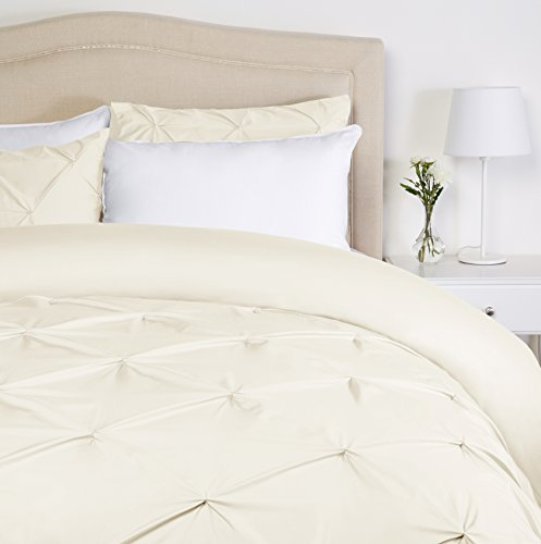 Pinzon Pinch-Pleat Duvet Cover Set - King, ()