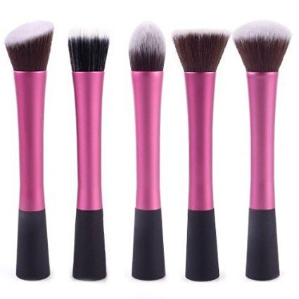 JOVANA 5 Pcs Concealer Brushes Dense Powder Blush Brush Cosmetic Makeup Tool by JOVANA