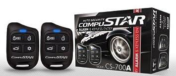 Sistema de Alarma Compustar CS700A 1-forma coche ...