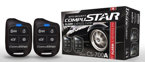 Compustar CS700A 1-Way Car Alarm System