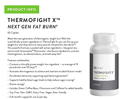 Thermofight X Next Gen Fat Burner - 60 Caplets by It Works (Image #1)