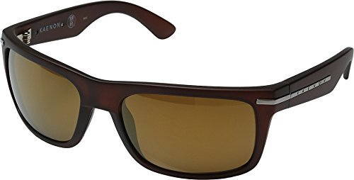 Kaenon Mens Burnet Polarized Sunglasses, Gold Coast / Brown - Sunglasses Kaenon 91 Sr