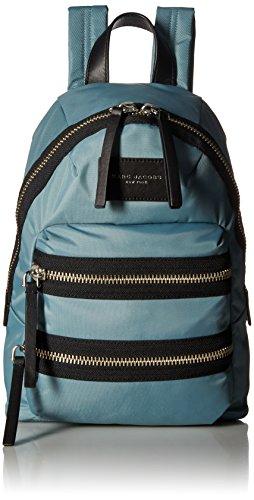 Price comparison product image Marc Jacobs Women's Nylon Biker Mini Backpack,  Dolphin Blue