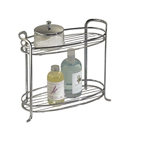 mDesign Standing Bathroom Storage Accessories