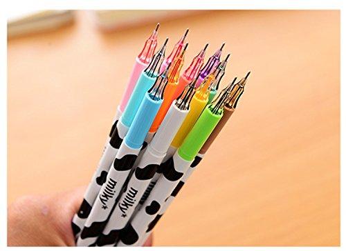 Milky Gel Pen Diamond Ball Pen Korean Stationery Zakka Canetas Papelaria Material Escolar School