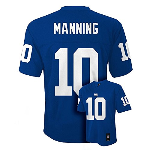 Eli Manning #10 New York Giants NFL Youth Mid-tier Jersey Blue (Youth Xlarge 18/20)
