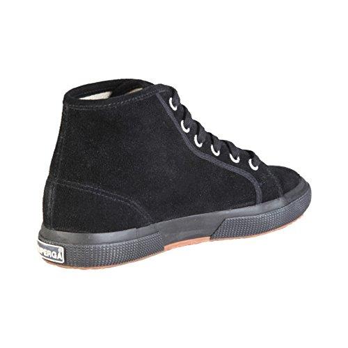 Superga 2095- SUEU S0028C0 - Zapatillas fashion de ante unisex Full Black
