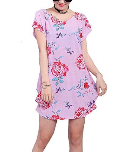 Coolred-femmes Floral Imprimé Confort Décontracté Robe Midi Partie Perméable À L'air 21