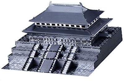 Tachiuwa 3Dメタルアート1:570紫禁城モデルビルドキットおもちゃ趣味-シルバー