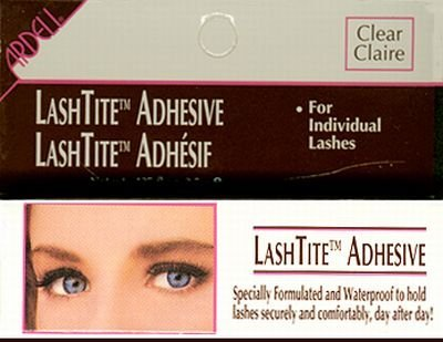 Ardell Lashtite Adhesive Dark 0.125oz Bottle (Black Package) by Ardell (Ounce Bottle 0.125)