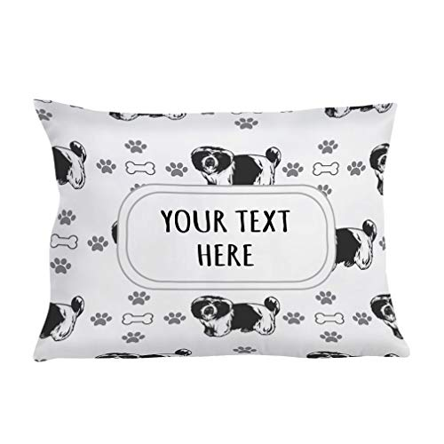 Style In Print Personalized Pillow Case KYI Leo Dog Bones Paws...