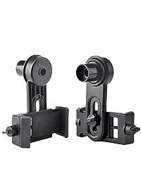 Adaptador universal para teléfono celular Gosky   Compatible con telescopio binocular telescopio telescopio telescopio y microscopio