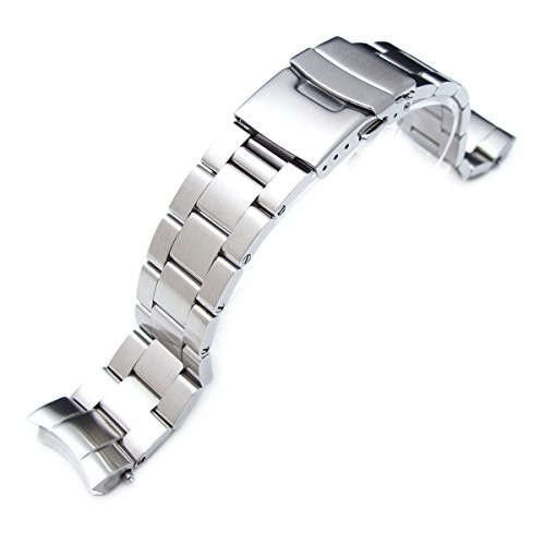 20mm Super Oyster replacement watch band for SEIKO Sumo SBDC001 SBDC003 SBDC031 ()