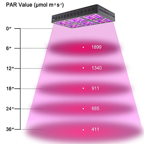 41IDAW29HfL - VIPARSPECTRA Reflector-Series 900W LED Grow Light Full Spectrum for Indoor Plants Veg and Flower