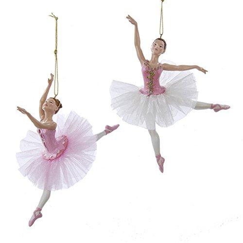 Kurt Adler Pink Ballerina Ornament/ 2