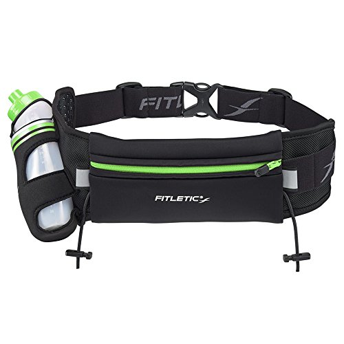 Fitletic Hiking Hydration Belt S/M Black & Green