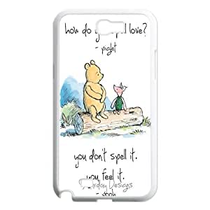 FOR Samsung Galaxy Note 2 Case -(DXJ PHONE CASE)-Winnie The Pooh-PATTERN 14