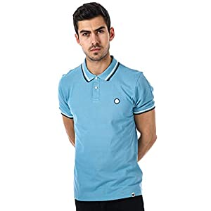 Pretty Green Bassline Polo Mid Blue