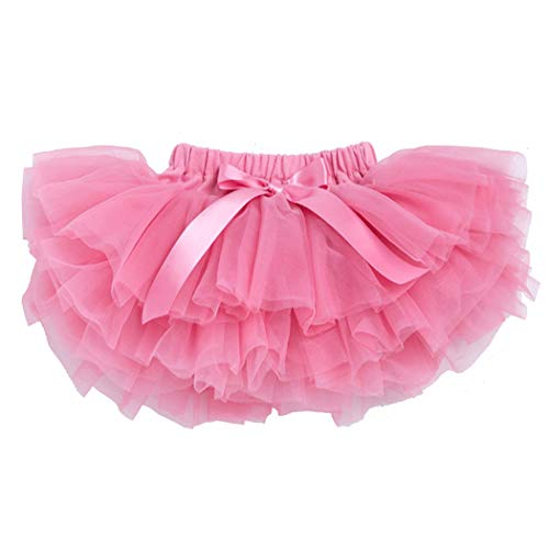 belababy 0-24 Months Baby Girl Tutu Skirt with Shorts, Watermelon -