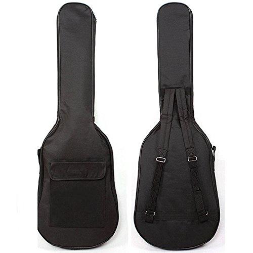 Correas doble Guitarra Eléctrica Bolso Suave Concierto Caso Mochila 101cm EAGLESTIME