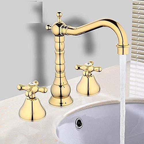 Zxyan 蛇口 立体水栓 蛇口流域の蛇口を導いた温度センサ水タップ浴室ミキサーデッキは流域シンクミキサータップグリフォトイレゴールド/シルバー/ブラック/セラミック/Chromeをマウント トイレ/キッチン用