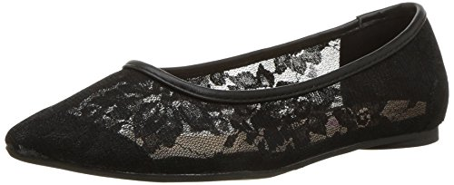Ballet Penny Fl Lace Knot Flat Kenny Women's Loves Black rnxP6rX