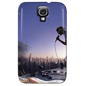 Slim Fit Design For Galaxy S4 Cover Case Navy WoWaXk7uOUBR
