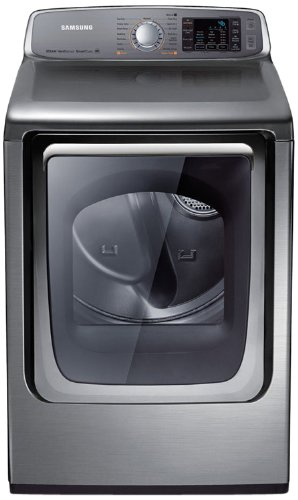 Samsung DV50F9A8GVP Stainless Platinum Gas Front Load Dry...
