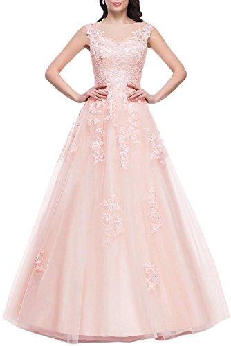 Prinzessin Abschlussballk AbiBallKleider Lang Spitze Ballkleider Abendkleider Erroeten 175 qROdAp