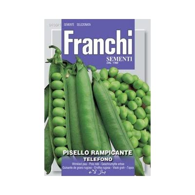 Italian Heirloom Peas - Telefono : Vegetable Plants : Garden & Outdoor