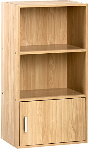 Comfort Products 50 6522OK Small Modern Bookshelf Oak Amazoncouk