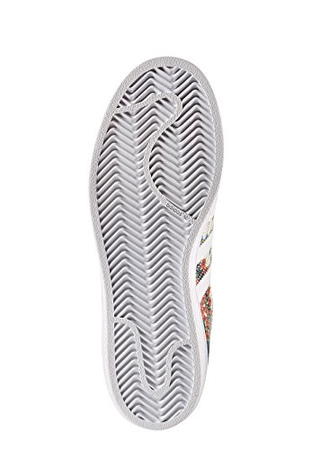 White Unisex S10 Noble Varios Zapatillas de Adidas Teal Colores Ftwr Ftwr Superstar White niños Deporte fwqPwTxB