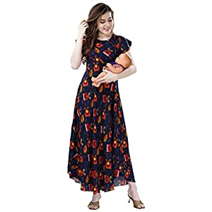 Best Soft AV2 Viscose Anarkali Maternity Kurti Online India