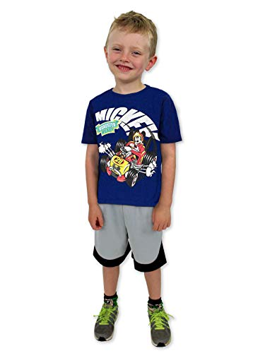 Mickey Mouse and The Roadster Racers Boys Short Sleeve Tee (3T, -