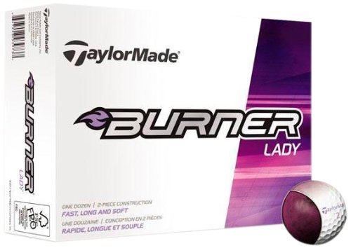 TaylorMade Burner Lady Golf Balls (1 Dozen) Taylormade Womens Golf Ball