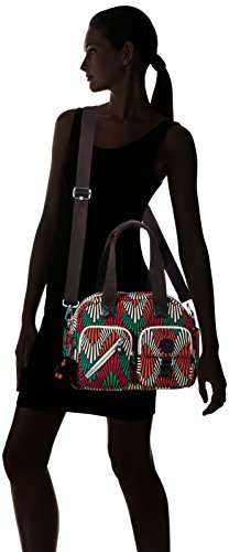 Palm Tropic Ct Handle Womens Kipling Top Bag Defea Multicolour qYa0qwZx6