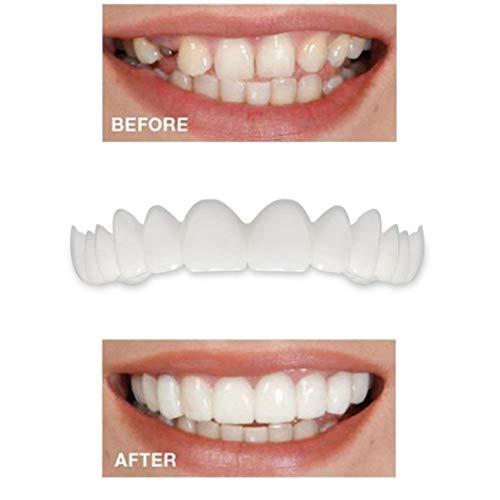 5PC Temporary Smile Comfort Fit Cosmetic Teeth Denture Teeth Top Cosmetic Veneer